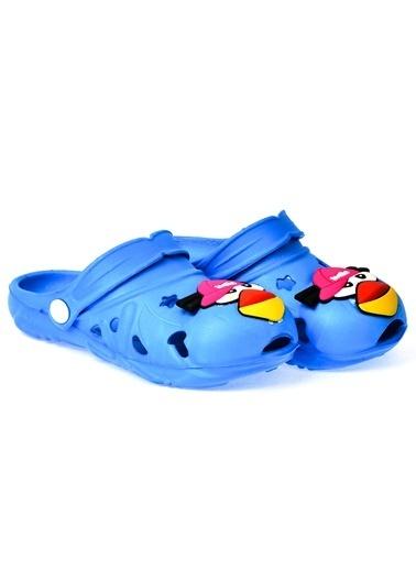 Kiko Kids Kiko Akn E109.000 Plaj Havuz Banyo Kız/Erkek Çocuk Terlik Mavi
